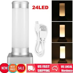 3Modes Touch Table Lamp Desk Bedside Night Light Bedroom Nightstand Home Decor $17.59