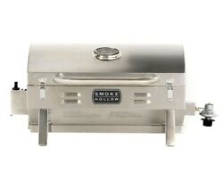 Propane Gas Grill Tabletop Portable 1-Burner Outdoor BBQ Stainless Steel  $145.99