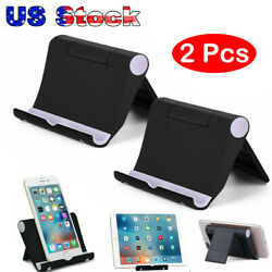 Universal Foldable Cell Phone Desk Stand Holder Mount Cradle for iPhone Tablet - $7.35