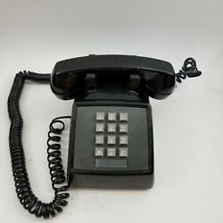 Vintage Western Electric Bell Black Touch Tone Desk Phone 2500MMG $47.99