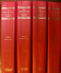 Thomas Aquinas - The Summa Theological Volumes 123 and 5 hardcovers  $95.00
