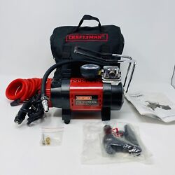 Craftsman Air Compressor Portable 12 V With Accessories $79.99