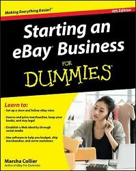 Starting an eBay Business for Dummies® Paperback Marsha Collier $6.62