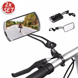Cycling Bike Bicycle Classic Rear View Mirror Handlebar Flexible Safety Rearview $17.90