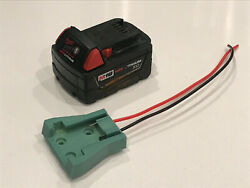 Milwaukee M18 Battery Adapter Holder w/ wires for Power Wheels 18v conversion $12.00