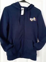Victoria Secret Full Zip Hoodie NWT Size Extra Small XS $32.00