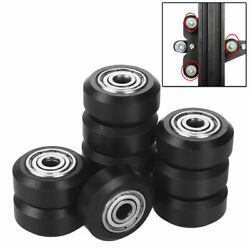 For 3D Printer 10pcs 5mm Pulley Linear Bearing Wheel Plastic POM Parts Durable $13.99