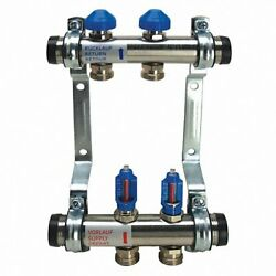 Watts Radiant #81013279 Manifold Kit 1 Inch Stainless Steel M-2 $200.00