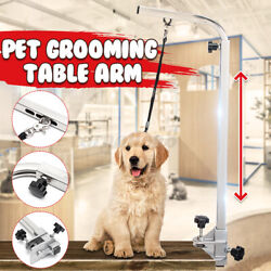 45#x27;#x27; Portable Adjustable Dog Stainless Pet Grooming Table Arm Bath Supplies $35.00