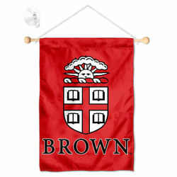 Brown University Mini Window Banner Hanging with Suction Cup $23.95