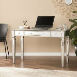 Computer Desk PC Laptop Table Study Workstation Glass Home Office Furniture  $470.00