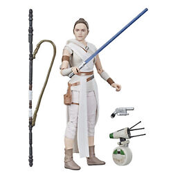 Star Wars The Black Series Rey and D O Toys 6 inch Collectible Action Figures $9.99