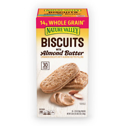 Nature Valley Biscuit Sandwich with Almond Butter 30 count $13.00