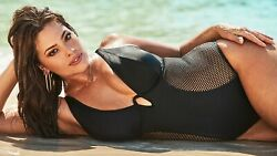 New Ashley Graham X Swimsuits For All Size 20 Majestic Monokini 2x Torrid Gift $125.00