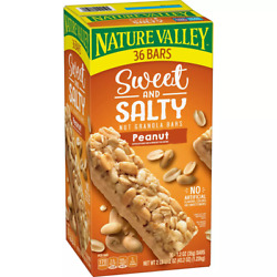 Nature Valley Sweet amp; Salty Nut Peanut Granola Bars 36 count $10.99