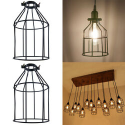 Pendant Vintage Lamp Shade Industrial Retro Lamp Holders Iron Wrought Lamp Cage $8.99