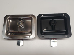 Chrome or Black Folding T handles for Commercial Contractor Truck Cap Tops T711 $30.00
