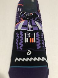 Stance Star Wars Socks Darth Vader Size Youth Boys Large Womens 3.5 7 NEW $10.25