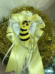 quot;Mommy to Beequot; Corsage for Baby Shower Cute Party Favors 4quot; $8.99