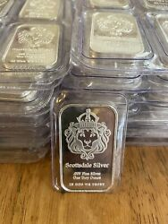 1 oz Silver Bar The One by Scottsdale Silver .999 Fine Silver Mint Sealed $40.89