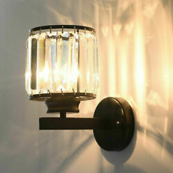 Modern Luxury Crystal Wall Lamp Led Wall Sconce Light Fixtures Bedroom Bathroom $59.99