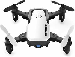 SIMREX X300C Mini Drone RC Quadcopter Foldable Altitude Hold Headless RTF 360 De $59.99