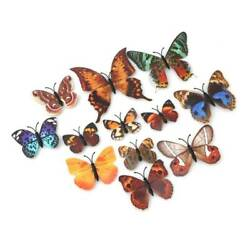 12pcs DIY Realistic Butterfly Decoration Home Room Art Wall Stickers Decor G $5.87