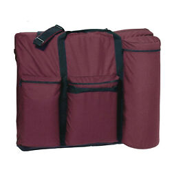 Portable Massage Table DELUXE Carry Case WINE for 28quot; Tables $19.99