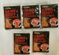 5 pack Little Hotties Hand and Body Warmers 18 Hours of Pure Heat - EXP 072024  $8.95