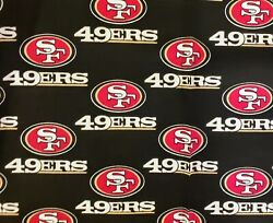 NFL San Francisco 49ers Cotton Fabric 14 yard 9