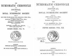 The Numismatic chronicle 120 volumes (1838-1960) on DVD  $9.99
