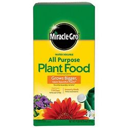 The Scotts Company Miracle Grow No.4 Water Soluble All Purpose Plant Food $30.53