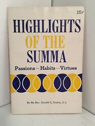 ST. THOMAS AQUINAS: Passions Habits Virtues. SERIES: Highlights of the Summa $10.00