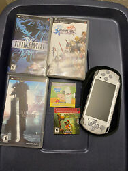 Sony PSP 2001 Daxter Entertainment Pack Ice Silver Handheld System +games *READ* $65.00