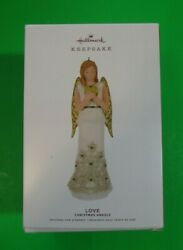 LOVE - 2nd in The Christmas Angels Series - 2019 Hallmark Ornament - NEW IN BOX $8.90