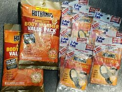 BUNDLE 16-HotHands Body Warmers & 16 pair-Toe Warmers = 48Total 10 packs $25.00