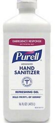 2 X Purell Advanced Instant Hand Sanitizer 16 oz. Flip Cap with 70% Alcohol  $37.88