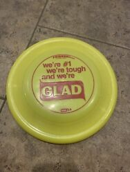 Rare Vintage Collectible Wham O GLAD Bags Frisbee $18.00
