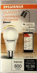 Sylvania Smart+ Smart Bluetooth LED A19 8W 60W Equivalent Dimmable Light Bulb $14.90