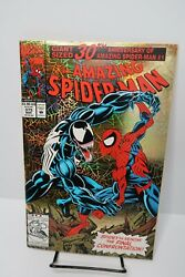 Amazing Spider-Man 375 1st Appearance Ann Weying She Venom 30th Anniversary Gold