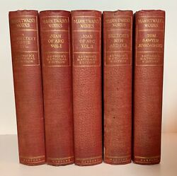 Mark Twain Works: 1909 Author's National Edition.  25 Vol Set. Harper
