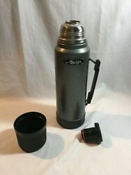 Aladdin Vintage 1 Quart Size Thermos SB950H Gray Made in USA $7.99