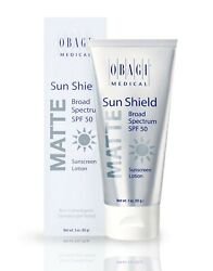 Obagi Sun Shield Matte SPF 50 Sunscreen EXP 05 21 NEW in BOX 3oz $29.90