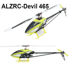 ALZRC Devil 465 DFC Flybarless 3D Torque Tube Helicopter KIT $165.00