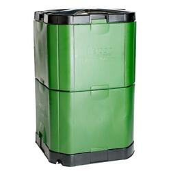 Composter Bin Storage Waste Barrel Durable Weather Resistant Water Proof Sturdy $351.03