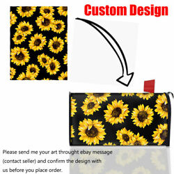Custom Design Mailbox Covers with Magnet Mail Post Box Cover Letter Decor Home $19.99
