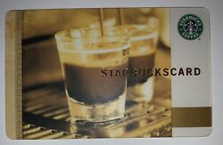 Starbucks 2006 Old Logo Coffee As Art Double Espresso Greece Card 6029 Series $24.99
