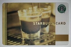 Starbucks 2009 Old Logo Coffee As Art Double Espresso Greece Card 6052 Series $15.99