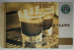 Starbucks Old Logo 2006 Coffee As Art Spain Card $99.99