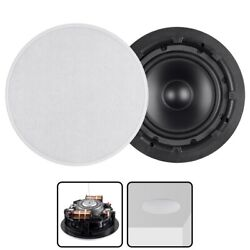 In Ceiling In Wall 8 inch Subwoofer with Dual Voice Coil Polypropylene 8 ohms $149.08